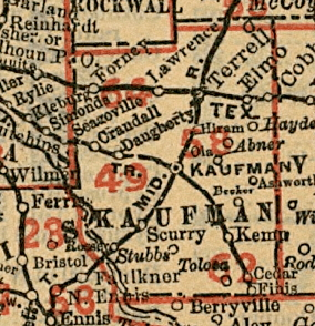 kaufman_co_1890_map